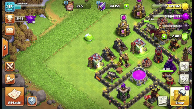 English clash of clans Live Streaming! Playing on my TH10! -#3