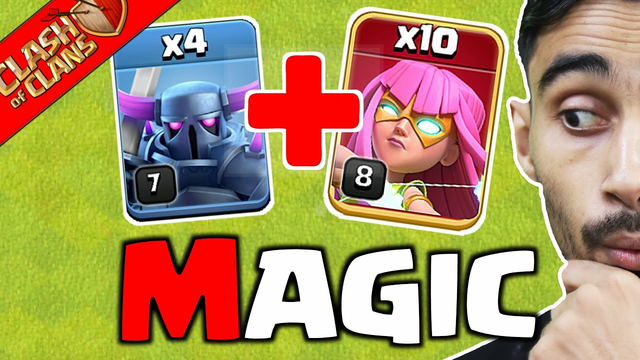 Magic Army In Clash of Clans..................Coc....