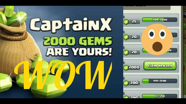 How to get 2000 gems in clash of clans?||Clash of clans #shorts #shortvideos
