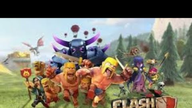 Live base visiting and raiding clash of clans