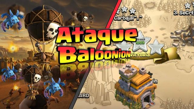 Baloonion el Ataque de los Pro TH7 | Clash of Clans