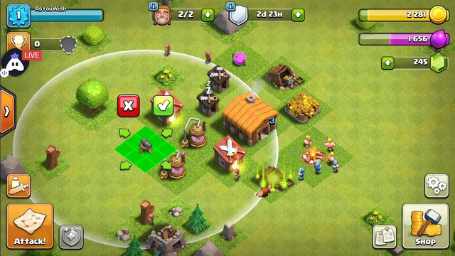 After Long - Visitng Your Base ! Clash Of Clans