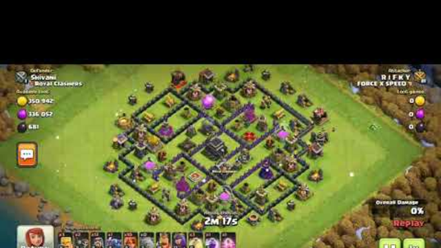 P. E. K. A. vs TH9 defence   who will win   clash of clans   COC_CLASHERS