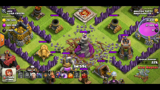 CLASH OF CLANS: EPISODE 9: DAY 315: NO CHEESE CAKE plus Clan war LEAUGE in 3 days and 51 min vid
