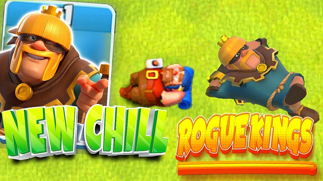 """NEW dope rogue King!! """"Clash Of Clans"""" Such a rascal!!"""