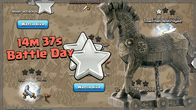 CAN WE WIN IN THE LAST 15 MINUTES?! - Clash of Clans