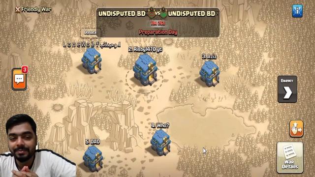 Clash of Clans Live war