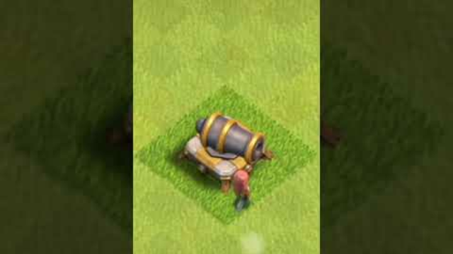 clash of clans #1 Upgrading all defense in 2 minutes
