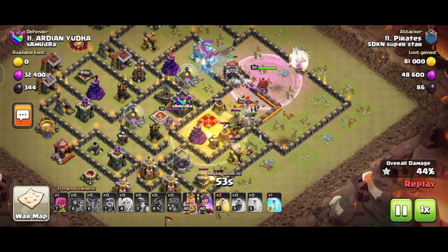 Clash of Clans 3 star clan wars