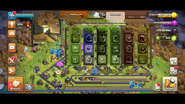 Clash of clans started war go to live
