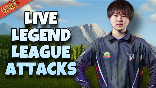 GAKU IS HERE!!! | Live Legend League Attacks | #clashofclans #coc #mobilegaming