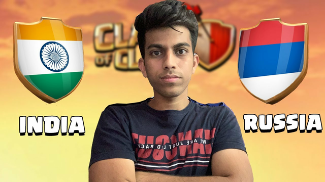 I Took My Revenge in INDIA vs RUSSIA Clan War Clash of Clans - COC