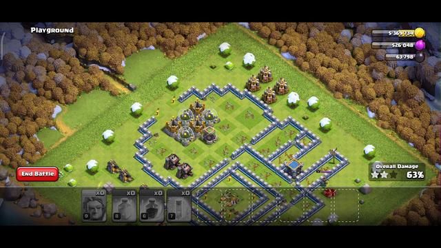 clash of clans war