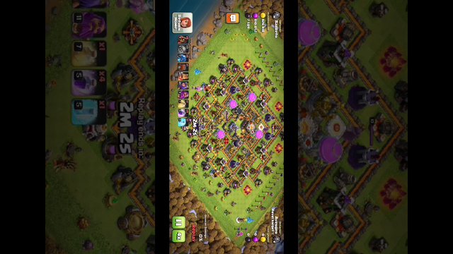 Electro - Web Attack Strategy || Clash of Clans