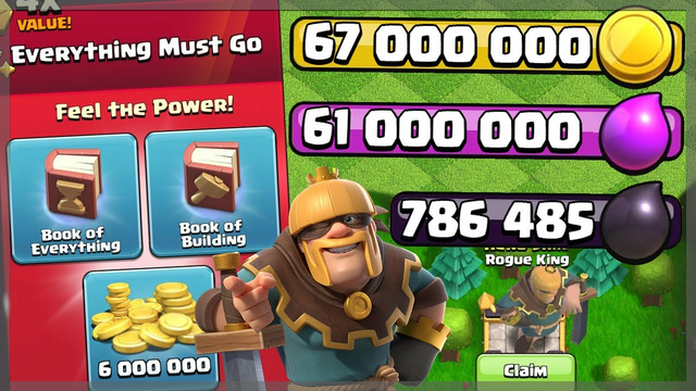 CRAZY SPENDING SPREE AFTER GEMMING THE GOLD PASS! - Clash of Clans