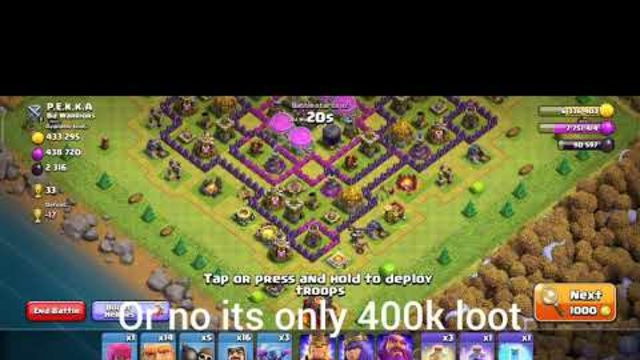 15 million loot in Clash Of clans