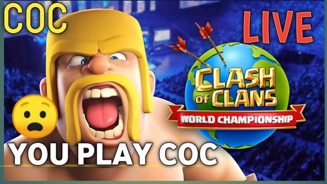 CLASH OF CLANS LIVE || BASE VISIT|| COC LIVE STREAM || COC