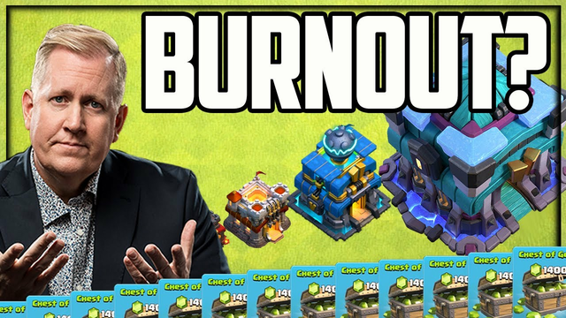 NOT BURNING OUT on Clash of Clans...YET!