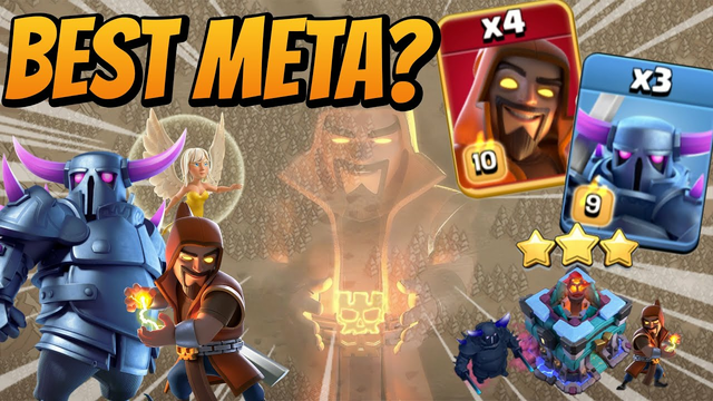 Th13 Pekka Super Wizard Attack Is Killing in Classic War! TH13 Attack Strategy 2021 - Clash Of Clans