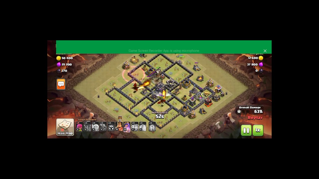Perfect 30 star war.ft(clash of clans)