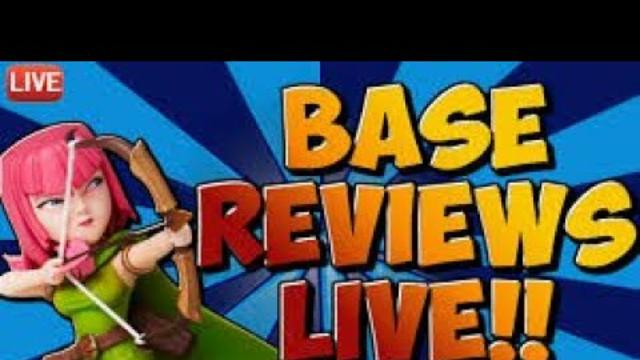 Clash of clans base reviews live