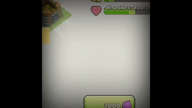 Gold storage upgrade to max level in clash of clans #Shorts