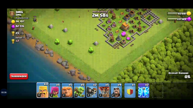 CLASH OF CLANS MY ATTACK PART 11