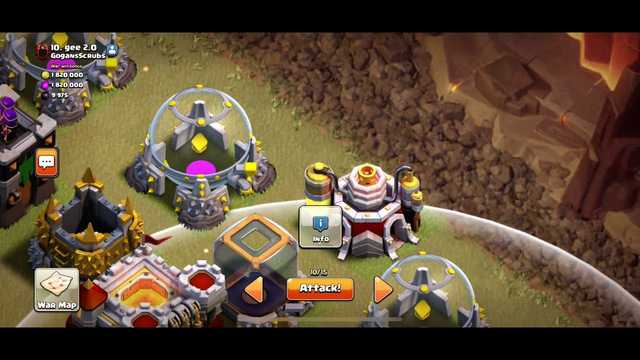 how to check what you can snipe in clash of clans