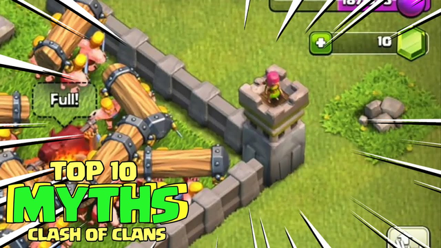 TOP 10 MYTHBUSTERS IN CLASH OF CLANS | COC Myths #06 | Coc Mythbusters 2021 |