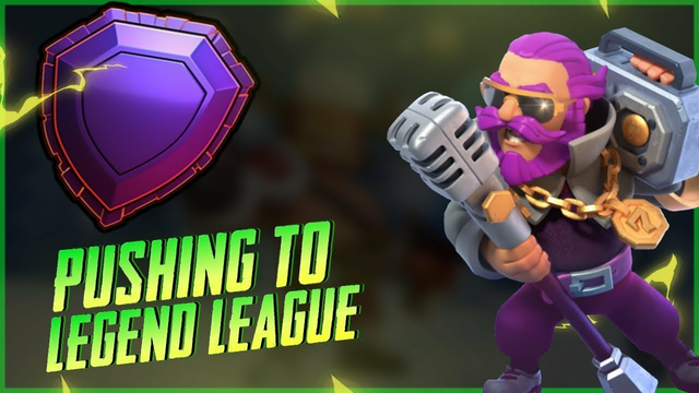 LEGEND LEAGUE PUSH FROM ALL ID !! Clash Of Clans #COCLIVE