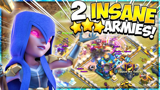 2 Unstoppable Armies for Easy 3 Stars! The Best TH12 Attack Strategies for War in Clash of Clans