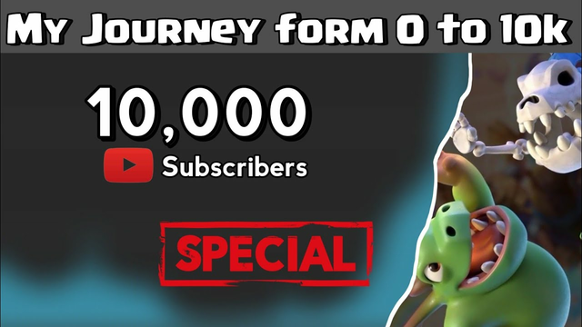 10,000 Subscriber's Special Clash of Clans | S I M H A CoCR