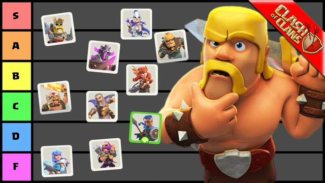 RANKING EVERY HERO SKIN IN CLASH OF CLANS!