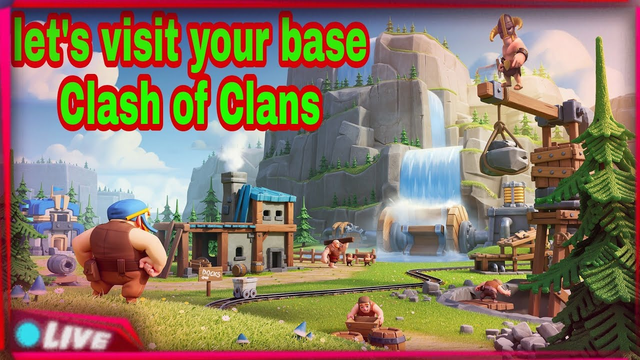 let's visit your base Clash of Clans live stream #varunsatyal