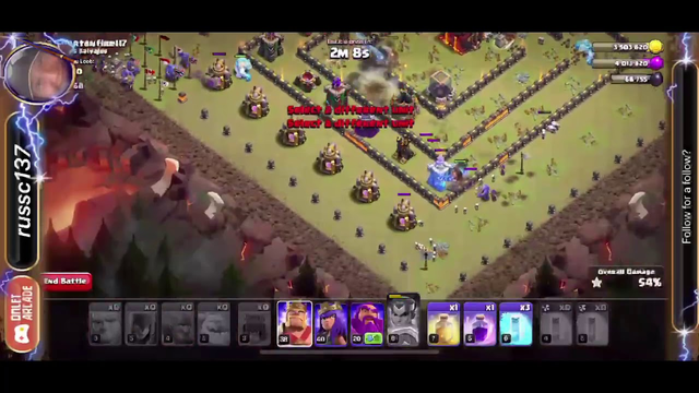 Clash of Clans - War League Day 3