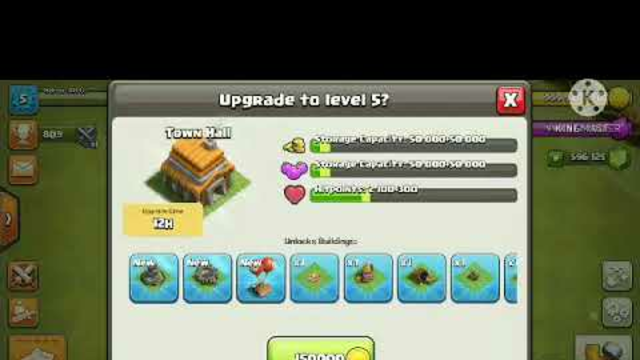 CLASH OF CLANS TOWN HALL 2 TO 13