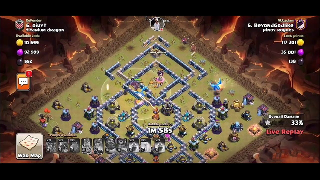 Welcome Clan war league day5 clash of clans live attacks