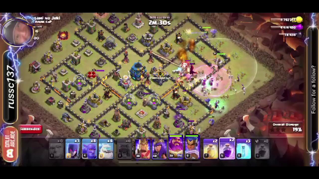 Clash of Clans - War League Day 4