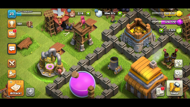Getting new Town Hall 5 clash of clans
