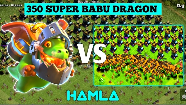 CLASH OF CLANS | SUPER BABY DRAGON VS AIR DEFENCE | #COC #clashofclans