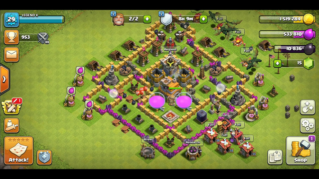 only one war but ,lots of fun clash of clans