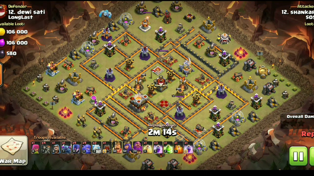 #clashofclans #coc #dailyupdates clash of clans | 3 Star | Clan war league | TH 11| Dragon Attack