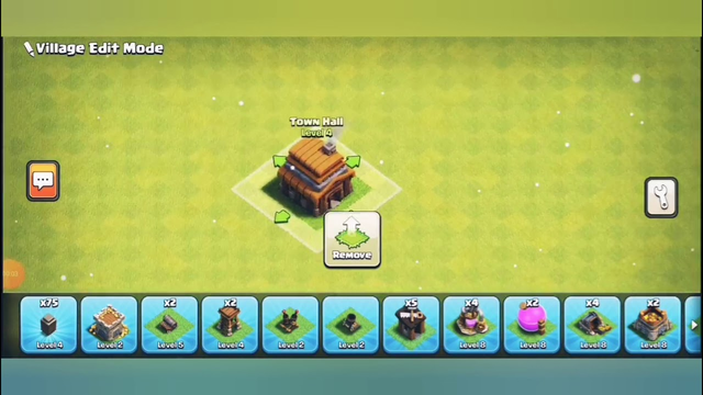 Clash of clans th 4 base build