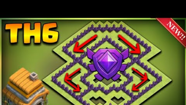 INSANE TOWN HALL 6 TROPHY BASE DESIGN 2021-Clash Of Clans