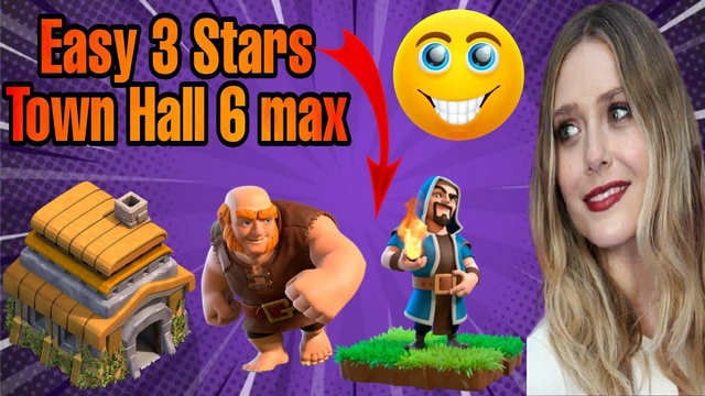 town hall 6 Attack Strategy ( giant + wizard ) | TH6 attack Strategy | clash of clans #Shorts