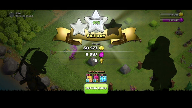 epic clash of clans attacks on builder base th4 and normal base th5