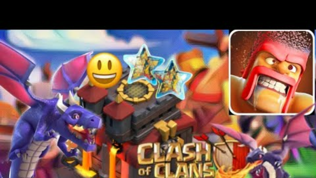 Clash of clans | Town Hall 10 dragon atteck is best troops .
