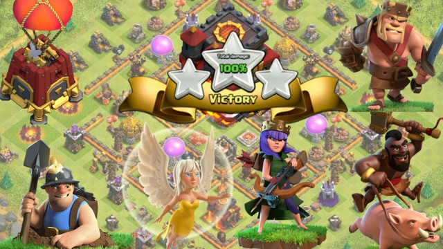 CRUSH TH10 WITH THIS ARMY----- CLASH OF CLANS - COC