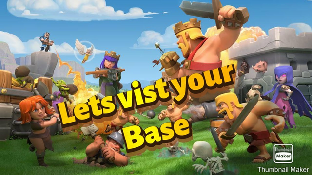 Clash of Clans live base vist |Town Hall 10upgrade |donation on screen