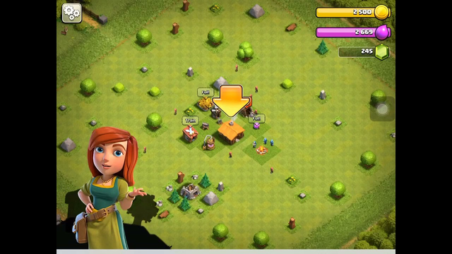Clash Of Clans | Town Hall 2 with a Clan Castle?!?